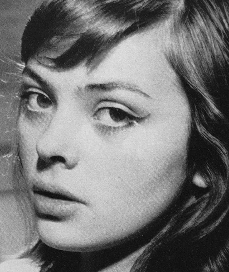 "Barbara Kwiatkowska-Lass on the set of ""Pan Anatol szuka miliona"", 1958."