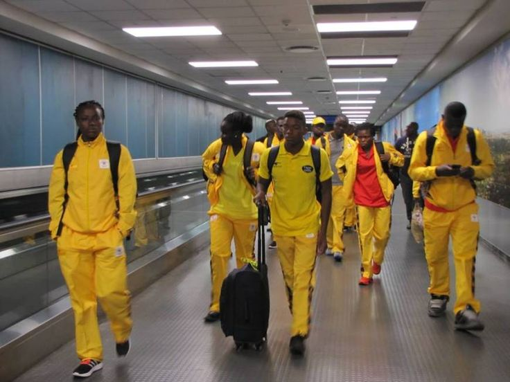 The Ghana Olympics team arrived in Brazil on Tuesday for the Rio 2016 Olympic Games.