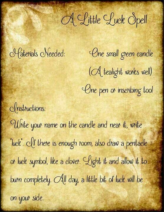 "We all could use this spell! so simple I love it. ""There's a little witch in all of us"" ⛤"