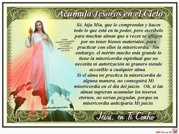 Divina Misericordia : 40 fotos de Jesus misericordiso con la ...