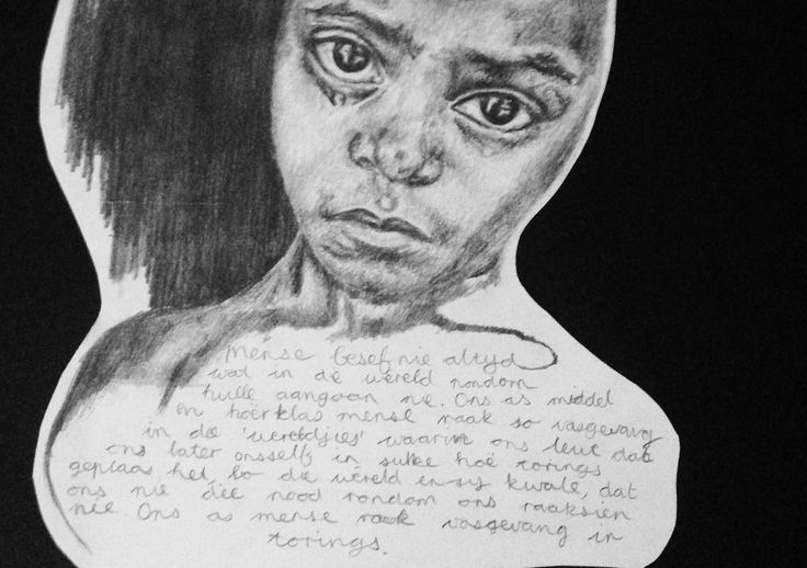 #africa #art #socialinjustice #pencildrawing #younggirl #crying
