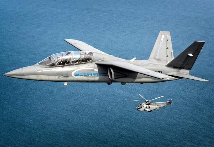 Detailed image of the Textron AirLand Scorpion Light Attack; Reconnaissance; Training Aircraft