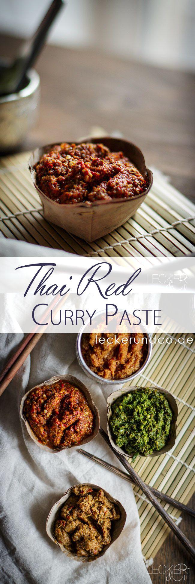 Thai Red Curry Paste | Thailändische Rote Currypaste