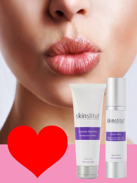 For luscious lips use Enzymatic Micro Peel and Repair Balm to exfoliate and hydrate for extra kissable lips.