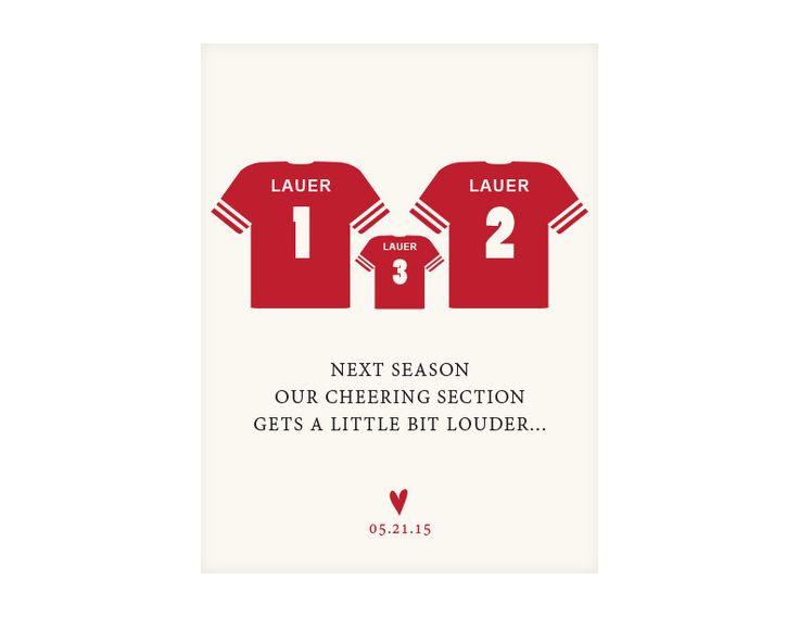 Best 25 Football Pregnancy Announcement Ideas On