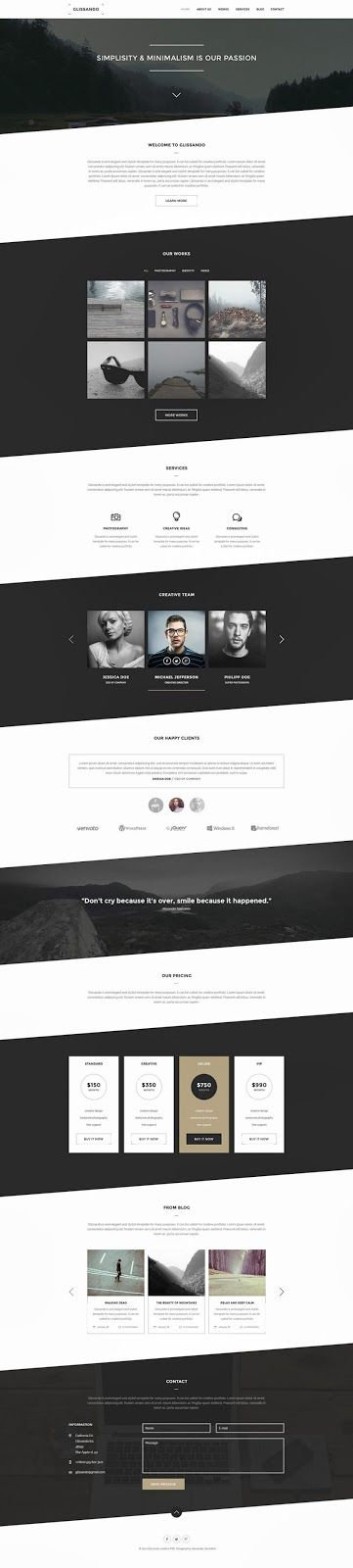 54 best Paid#Templates#PSD images on Pinterest