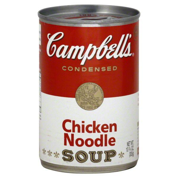 chicken noodle soup campbells | Campbells Soup, Condensed, Chicken Noodle Image