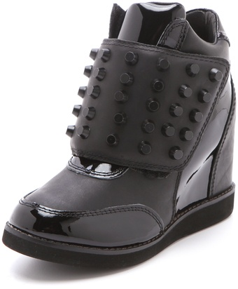 Jeffrey Campbell Teramo Wedge Sneakers - Lyst