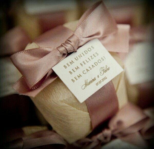Inspirações para a embalagem de bem-casado