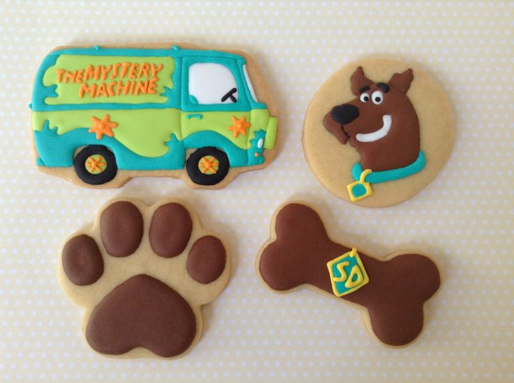Scooby Doo, cookies, biscoitos decorados | by Cookie Design