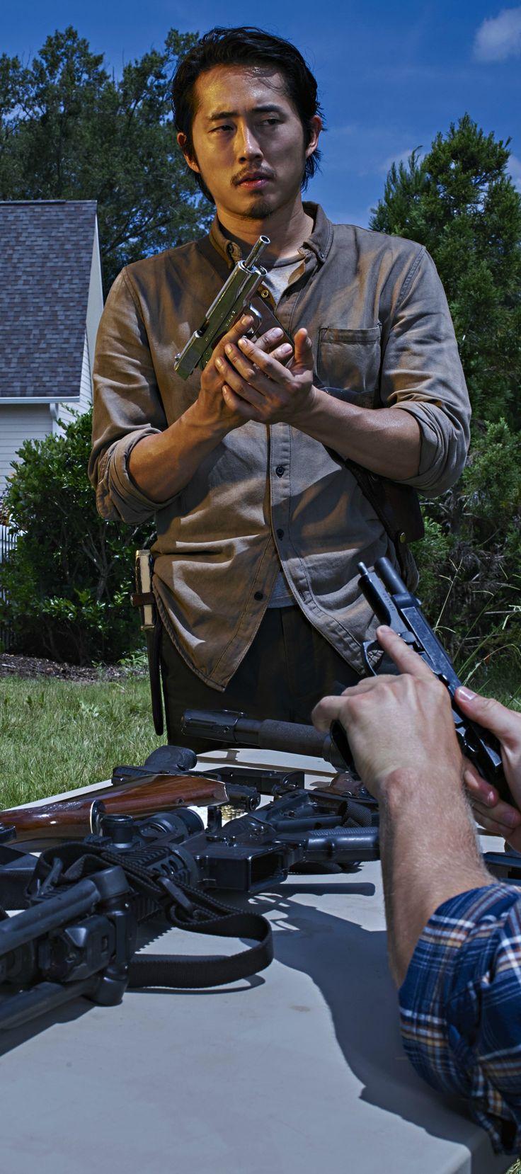 The Walking Dead - Glenn season 6 portrait