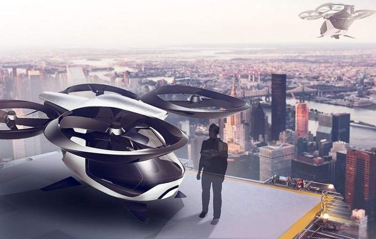 Autonomous passenger drone features modular structure allows to use it for different applications. The combination of autonomous systems and multicopters, designed by Robert Kovacs, made it possible to create this unmanned flying vehicle.