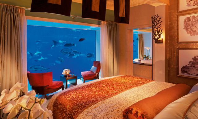 Underwater Suite at Atlantis the Palm Dubai