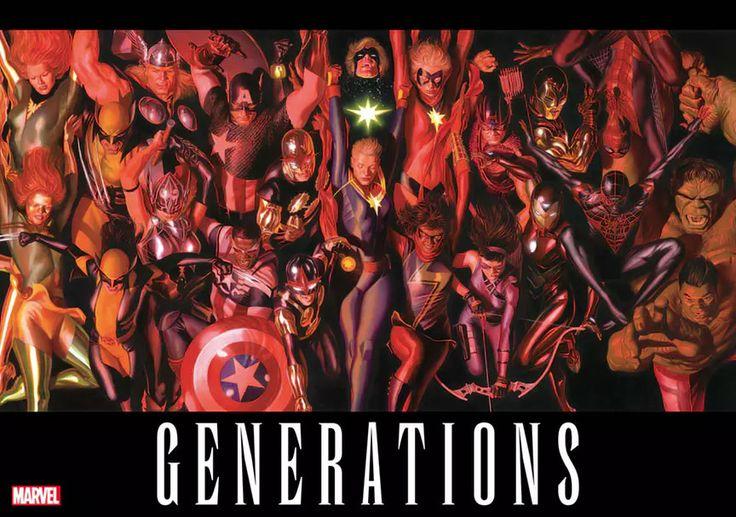 Marvel Generations vai ressuscitar Logan, Bruce Banner, Capitão Marvel e mais   Notícia   Omelete