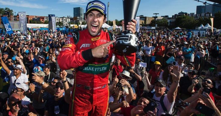 Brasileiro Di Grassi fatura título mundial da Fórmula E