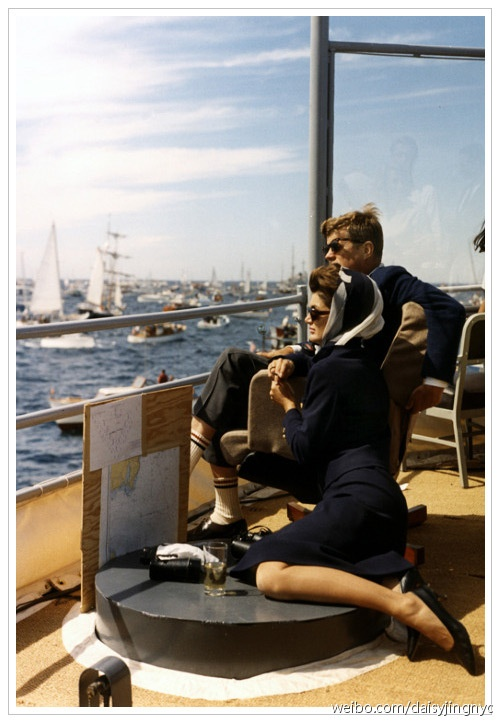 J. F. Kennedy and Jackie O. I'm obsessed with them