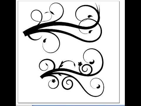 How to make Flourish designs in Inkscape  (her whole channel is full of SNC tips!)