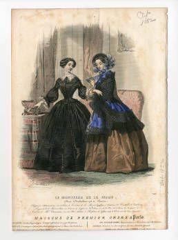 Frauen 1852, Teller 040 :: Costume Institute Fashion Plates
