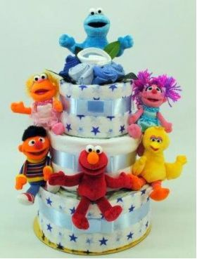 30 best nappy cakes images on pinterest nappy cakes personalised sesame street newborn baby boy nappy cakes baby nappy cakes nappy cakes sydney negle Gallery