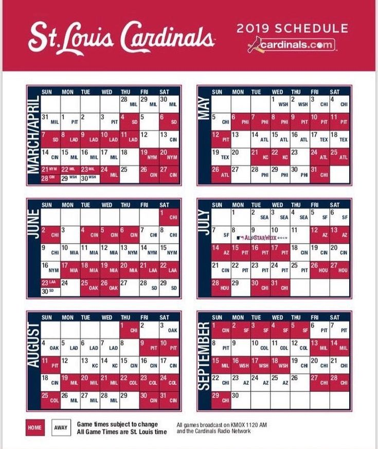 Pin by luisa hand on aaa stl baseball cardinals schedule - St louis cardinals downloadable schedule ...
