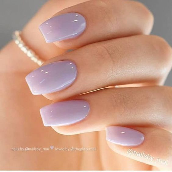 Nails Gel Or Acrylic What Is The Best Choice In 2020 With Images Squoval Nails Popular
