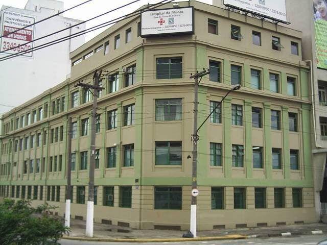 Hospital da Mooca (antiga Casa de Saúde Dom Pedro II) - (Rua da Figueira, 831 - Mooca, São Paulo, SP) (Av Alcantara Machado, 60-80, Sao Paulo, SP) (foto de 2005)
