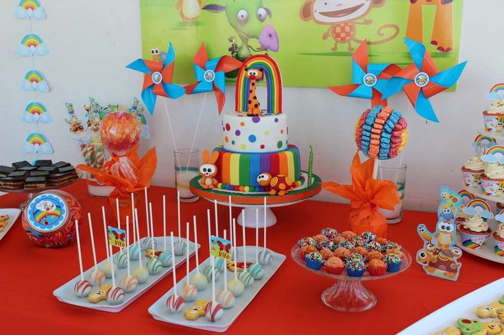 Baby TV Birthday Party Ideas | Photo 1 of 13 | Catch My Party