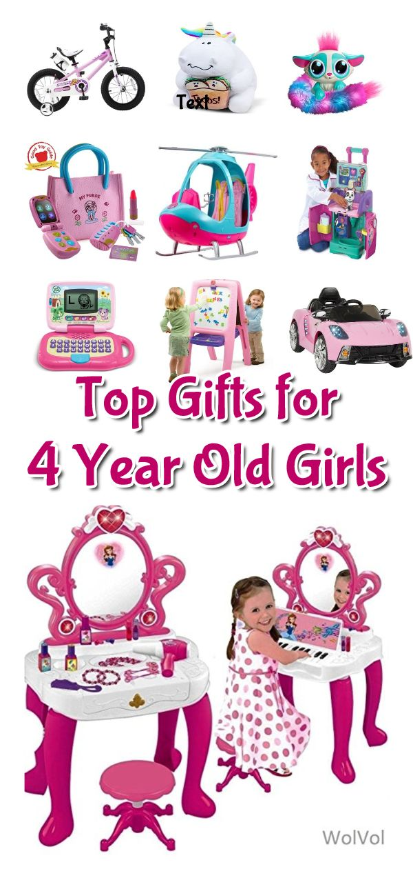Best Toys & Gifts For 4 Year Old Girls | 4 year old girl ...