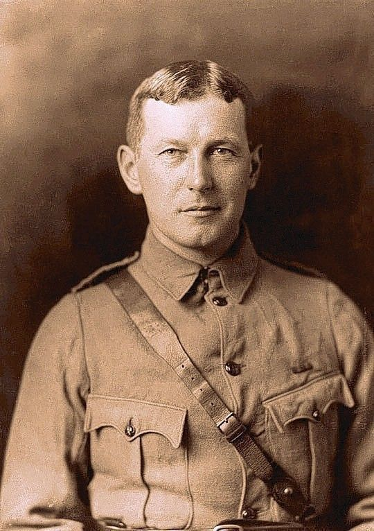 """On Memorial Day weekend, old poem beautifully captures horrors of war     -  Canadian Lt. Col. John McCrae, a physician who survived chlorine gas shelling by the Germans in Belgium during World War I, wrote the famed poem """"In Flanders Fields."""" (Photo courtesy Guelph Museums / May 23, 2014)"""