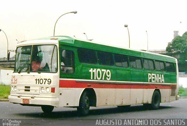 Ônibus da empresa Empresa de Ônibus Nossa Senhora da Penha, carro 11079, carroceria Tecnobus Superbus I, chassi Itapemirim SBVM. Foto na cidade de - por AUGUSTO ANTÔNIO DOS SANTOS, publicada em 16/08/2016 20:10:54.