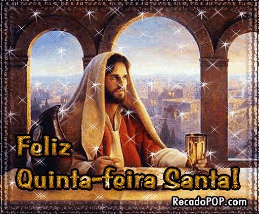 www.linda quinta feira.com | Quinta-feira Santa Mensagens e Imagens para Facebook