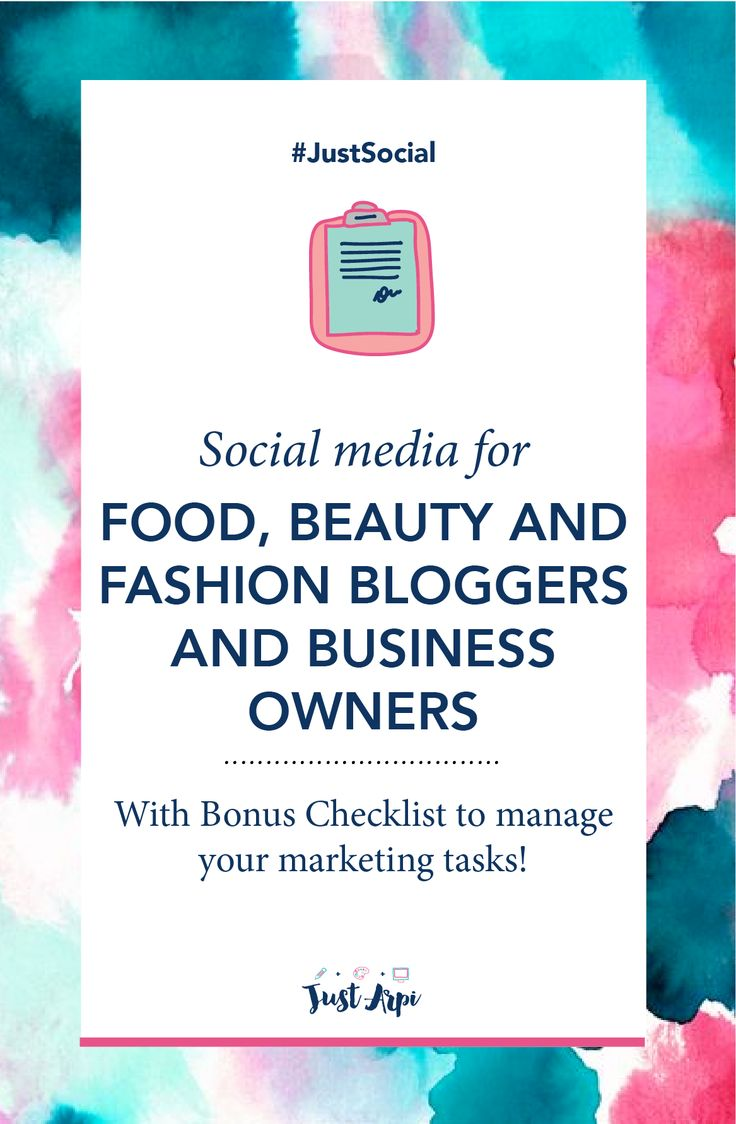 Simple marketing tricks and tips to step up your marketing game! Marketing for food, beauty and fashion bloggers