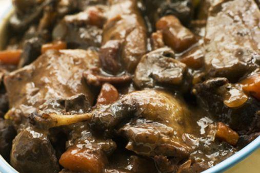 Partridges in Casserole