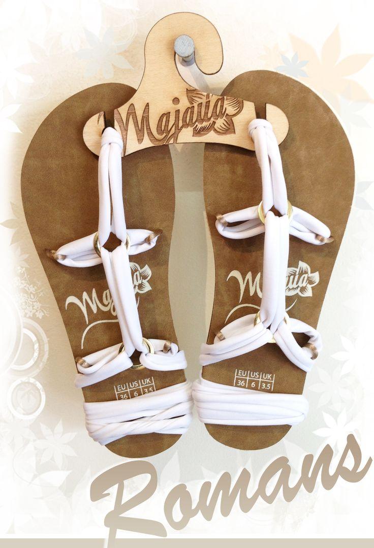 #Sandalias de 5 puntas, con ribbon de color de elección. #beachwear #amarazulswimwear