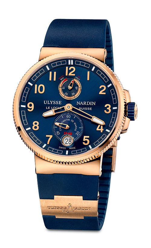Powered by Caliber UN-118 a technological gem ULYSSE NARDIN Marine Chronometer Manufacture (See more at: http://watchmobile7.com/articles/ulysse-nardin-marine-chronometer-manufacture) (3/5) #watches #ulyssenardin