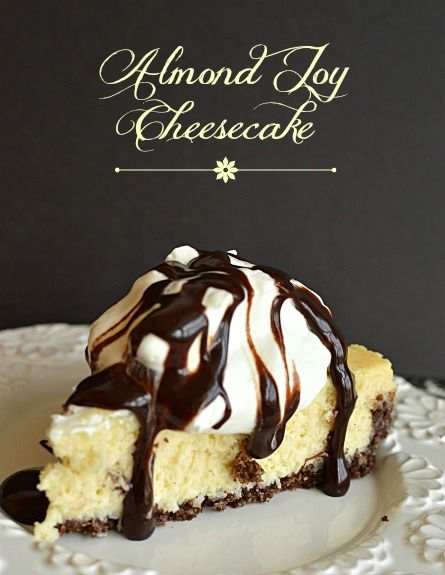 Almond Joy Cheesecake may be better than the candy bar, if that's possible! | Little Dairy on the Prairie