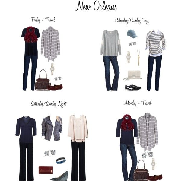 """""""New Orleans Weekend"""" by htharri on Polyvore"""