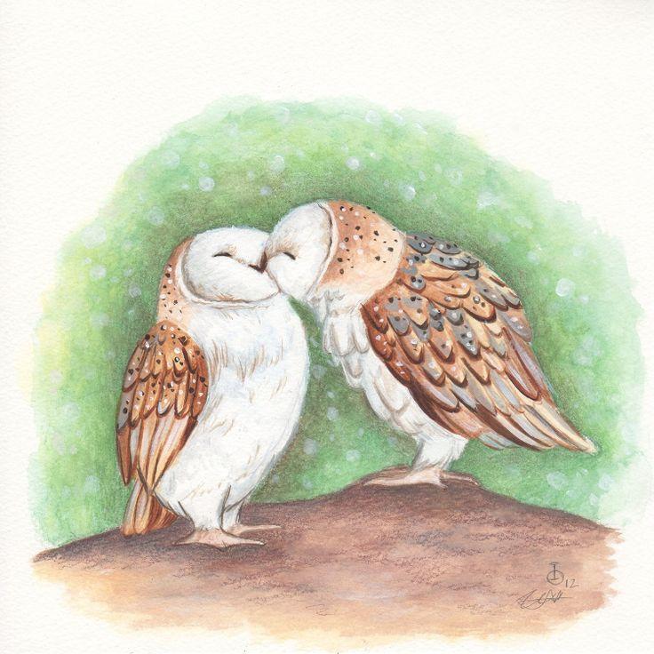 Owls Kiss