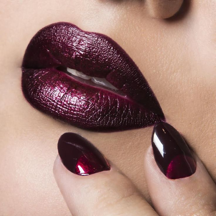 OCC Favorites: The Black Dahlias | Find the products that were used to get this lip look on the #TheBeautyBoard>