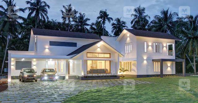 4 Bedroom Stunning Mix Designed Modern Home In 2997sqft Free Plan Free Kerala Home Plans Kerala House Design Free House Plans Kerala Houses