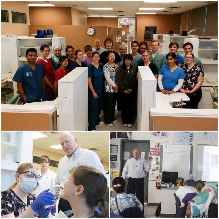 #NAIT Dental Technology students got a hands-on demonstration on the latest technology in tooth shading and colour matching today! #yeg #dental #abpse #Edmonton