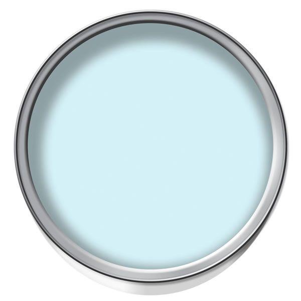 wilko mid sheen emulsion bathroom paint powder blue. Black Bedroom Furniture Sets. Home Design Ideas
