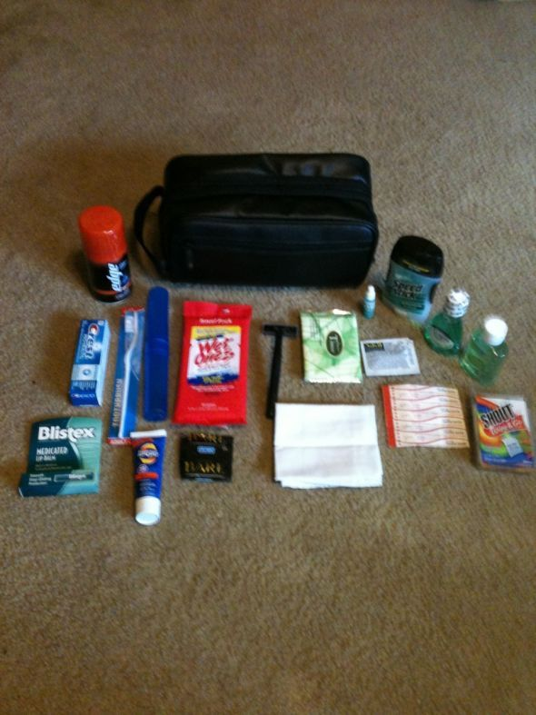 Groomsmen Survival Kits | Weddingbee Photo Gallery