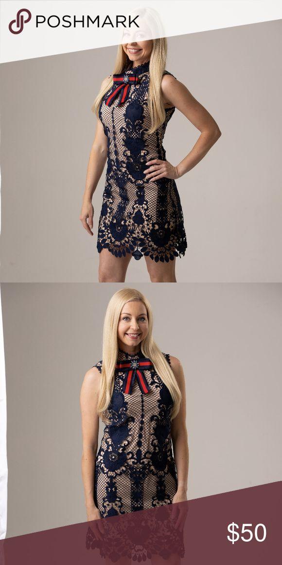 Vici Navy Lace, Crochet Dress – Small Cutest Dress – It just doesn't fit! Pu…