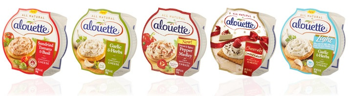 Alouette® Soft Spreadable Cheese | Great for Appetizer and Entree Recipes  These are great cheese spreads anytime!