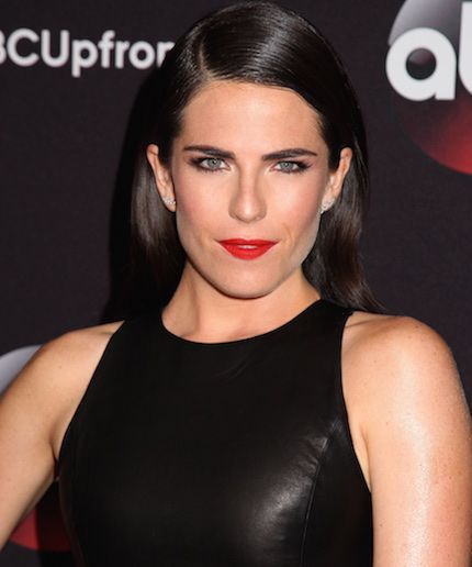 Karla Souza Refused To Strip Down For GQ's Cover & Wore This Instead #refinery29  http://www.refinery29.com/2015/10/96617/karla-souza-gq-cover-bra-underwear