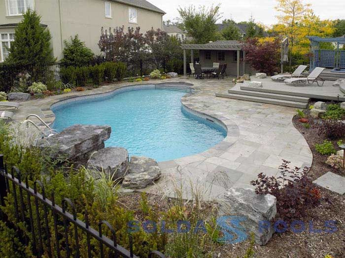 44 Best Inground Pools Images On Pinterest Backyard