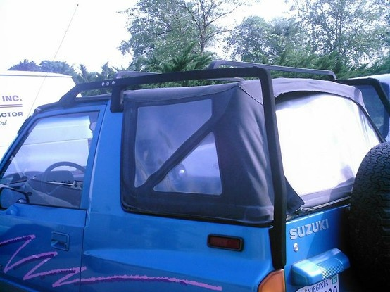 Rare Suzuki Sidekick OEM roof rack, which was a factory ...