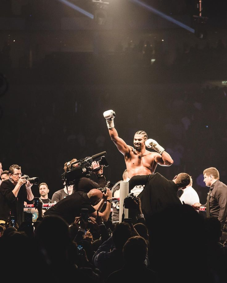 @MrDavidHaye wins at @TheO2London with a second round stoppage against Kosovo's Arnold Gjergjaj setting up a clash with #ShannonBriggs.  Amazing atmosphere with #FatManScoop and #LethalBizzle entertaining a packed arena!    #thisislondon #theo2 #davidhaye by london