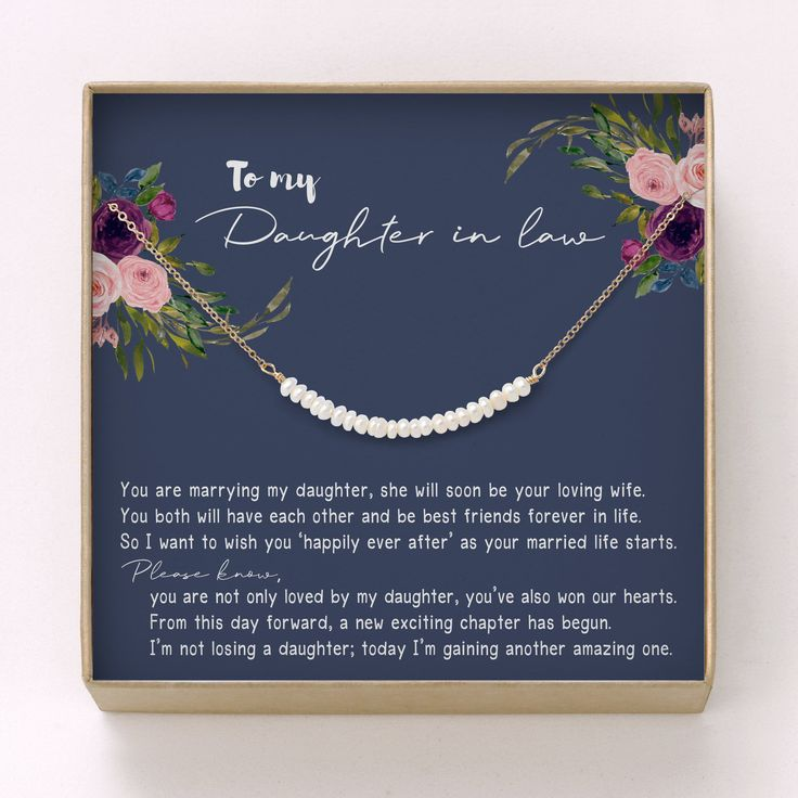 Daughter in law gift necklace lesbian wedding gift for